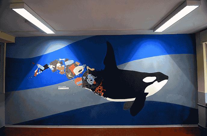 #Ambienteascuola - Murales 01