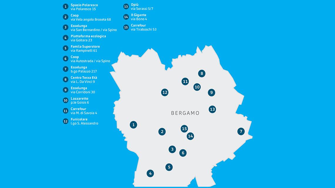 Mappa Bergamo